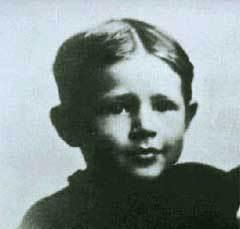 Рональд Рейган в детстве