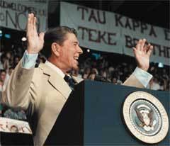 Рональд Рейган - 40-й президент США