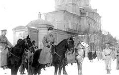 БЕЛОГВАРДЕЙСКИЕ ЧАСТИ В ЕКАТЕРИНБУРГЕ. Фото с сайта www.wikipedia.org