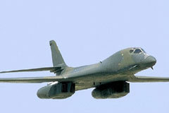 ВВС США представят бомбардировщик B-1B. Фото с сайта Fas.org