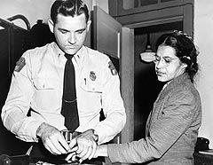 Арест Розы Паркс, фото с сайта www.wikipedia.org