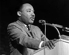 Мартин Лютер Кинг, фото с сайта www.wikipedia.org