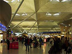 Аэропорт London Stansted, фото Сергея Рублёва,