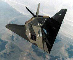 F-117. Фото с сайта Fas.org