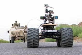 Роботы уже действуют в Ираке. Фото с официального сайта американской армии