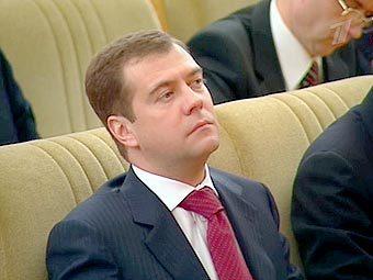 Дмитрий Медведев, кадр