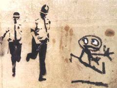 Рисунок Бэнкси, фото с сайта banksy.co.uk