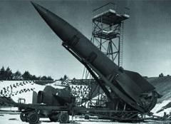 Ракета V2. Фото с сайта richard-seaman.com
