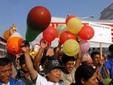 Демонстрация сторонников республики в Катманду. Фото AFP
