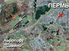Кликните на картинке, чтобы посмотреть спутниковый снимок места крушения