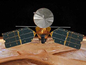 Компьютерная модель Mars Reconnaissance Orbiter. Изображение NASA/JPL
