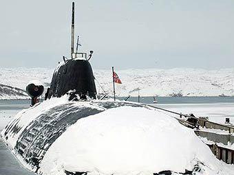 Подлодка на базе Северного флота РФ. Фото пресс-службы Минобороны России