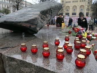 Акция памяти жертв политических репрессий. Фото ©AFP