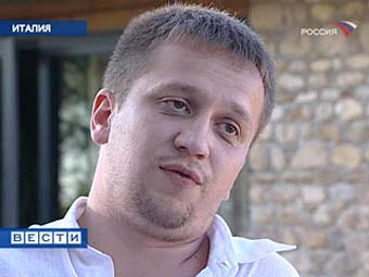 """Алексей Калиниченко. Кадр телеканала """"Россия"""""""