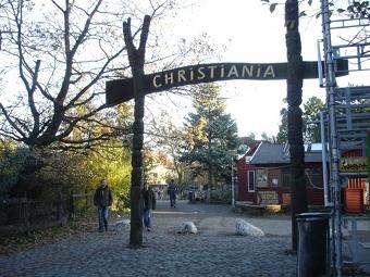 Коммуна Христиания в Копенгагене. Фото ©AFP