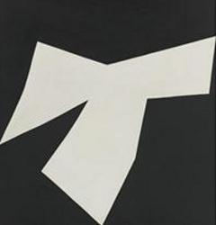 """Эльсуорт Келли, """"Ковбой"""" (1958), холст, масло. Цена: 1,762 миллиона долларов. (В высоком разрешении)"""