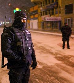 Полиция в Сьюдад-Хуаресе. Фото (c)AFP