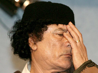 Муаммар Каддафи. Фото ©AFP