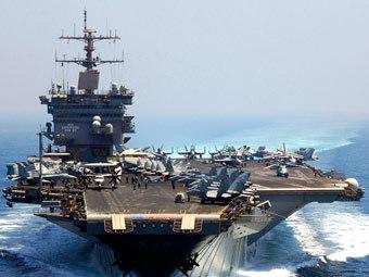 """Корабль ВМС США """"Энтерпрайз"""". Фото с сайта navy.mil"""