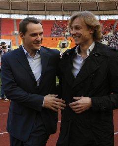 Андрей Кобелев и Валерий Карпин. Фото с официального сайта