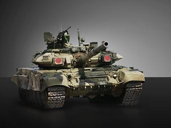 Т-90. Изображение с сайта uvz.ru
