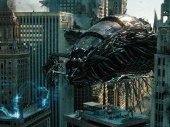 """Кадр из фильма """"Трансформеры 3: Темная сторона Луны"""""""