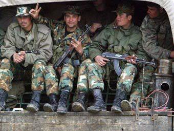 Сирийские военные. Фото ©AP