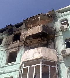 Последствия взрыва. Фото