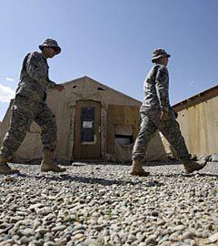 Американские солдаты на севере Ирака. Фото (c)AFP
