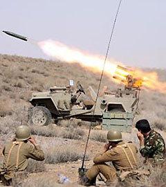 Бойцы Корпуса стражей исламской революции. Фото с сайта иранского спутникового англоязычного канала presstv.ir