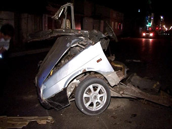 Место взрыва в Махачкале. Фото РИА Новости, Рамазан Рашидов