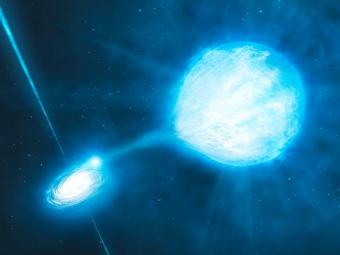 Сверхновая типа Ia глазами художника. Иллюстрация ESO