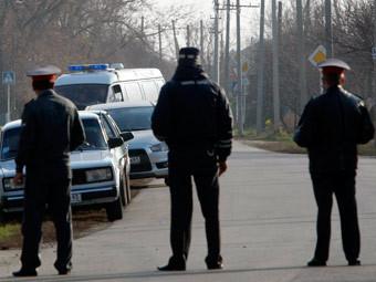 Полиция в Кущевской. Архивное фото ИТАР-ТАСС, Валерий Матыцин