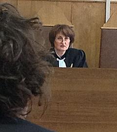 Судья Марина Сырова