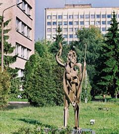 """Памятник """"Дорогу осилит идущий"""". Фото vk.com"""