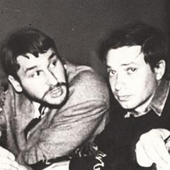 Марк Фейгин (слева) с Георгием Кутузовым. Фото с сайта grani.ru