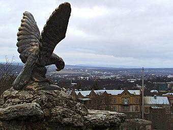 """""""Орел, поедающий змею"""". Фото Коммерсантъ, Александр Чиженок"""