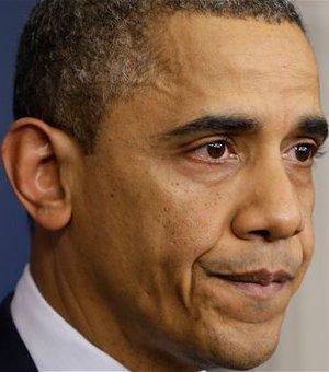 Барак Обама во время заявления, посвященного стрельбе в школе в Коннектикуте. Фото (c)AP