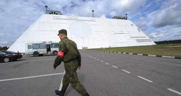 """РЛС """"Дон-2Н"""". Фото Кирилла Каллиникова, РИА Новости"""
