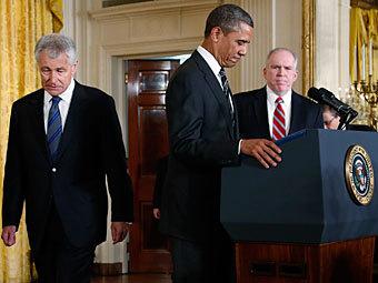 Обама назвав кандидатів на посади голів ЦРУ та Пентагону