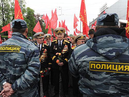 В алабинском гарнизоне под москвой проходят тренировки парада победы