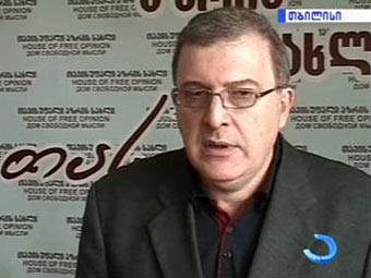 Мамука Арешидзе. Кадр Телевидения Аджарии.