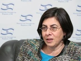 Анна Азари. Фото пресс-службы посольства Израиля.