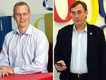 Андерс Сэндхольм (слева) и Владимир Долгов. Фото пресс-службы Google.