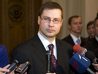 Валдис Домбровскис. Фото (c)AFP