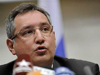 Дмитрий Рогозин. Фото (c)<a href=http://lenta.ru/info/afp.htm>AFP</a>