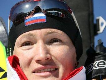 Светлана Ишмуратова после победы на Олимпиаде-2006. Архивное фото (c)AFP