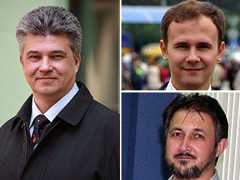 Игорь Маринин, Игорь Афанасьев, Павел Шаров. Фото предоставлено редакцией журнала.