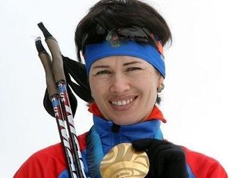 Ольга Медведцева. Фото с сайта biathlonrus.com