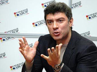 Борис Немцов. Фото с официального сайта политика.